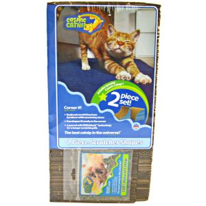 Cosmic Catnip Corner It Scratcher: 2 Piece Corner Scratcher