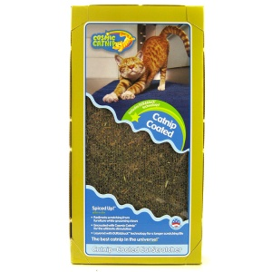 Cosmic Catnip Coated Cat Scratcher: Catnip Coated Scratcher
