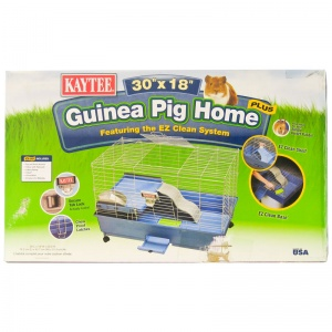 Kaytee Guinea Pig Home Featuring EZ Clean