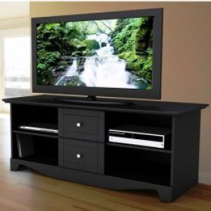 cheap rta home and office flat screen tv stand holds up to 32 plasma lcd black 134120 tv stands. Black Bedroom Furniture Sets. Home Design Ideas