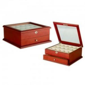 10 Stars Wooden Watch Box Cherry #157886 - Storage
