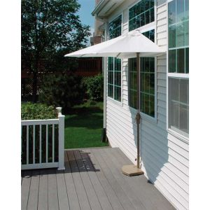 9 Ft. OFF-THE-WALL BRELLA with Olefin Fabric Natural
