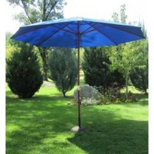 13' Wood Outdoor Umbrella