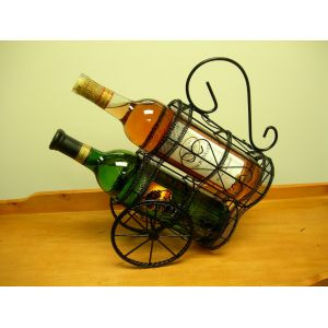 Hold N Storage Double Wagon Wine Holder WH16077 by Proman Products - Wall Racks