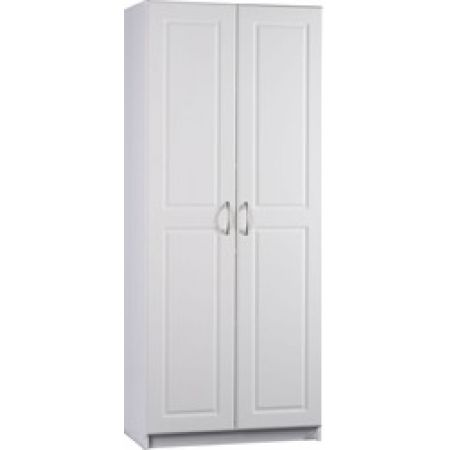 Best Buy Ameriwood Industries Oak and White Kitchen Storage Pantry ...
