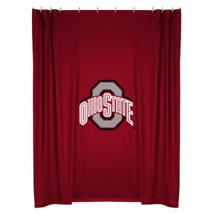 Sports Coverage Ohio State Buckeyes Shower Curtain