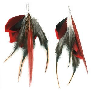 CAMPISE Feather Earrings
