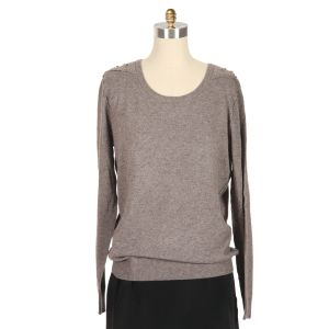 IRO Ian Sequin Inset Sweater Sweaters :  wool embelished inset ian