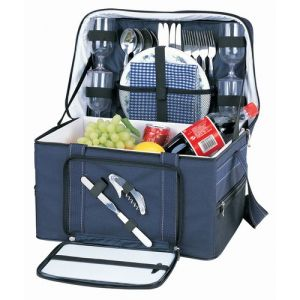 Sutherland Baskets Ultimate Getaway Picnic Cooler for 4