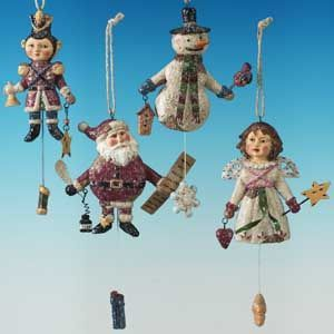 Pacific Rim Vintage Folk Ornament - Case of 12 #45146 - Christmas Ornaments