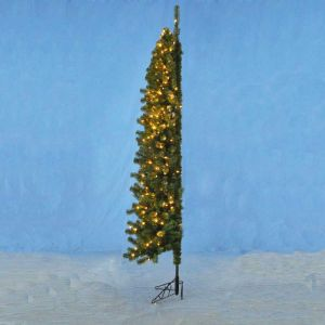 kurt adler 75 pre lit winchester corner christmas tree clear lights dksa tr1110 artificial christmas trees - Corner Christmas Tree