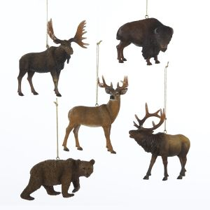 ksa club pack of 15 woodland splendor animal christmas ornaments dksa c8297 christmas ornaments - Animal Christmas Decorations