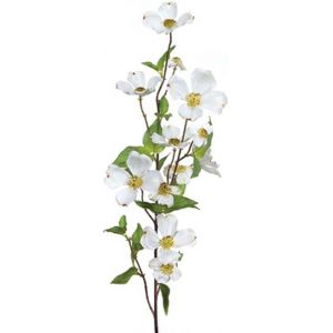 Easy shop cc home furnishings pack of 6 decorative artificial cc home furnishings pack of 6 decorative artificial white dogwood silk flower sprays 39 dmel 34547 artificial plants mightylinksfo
