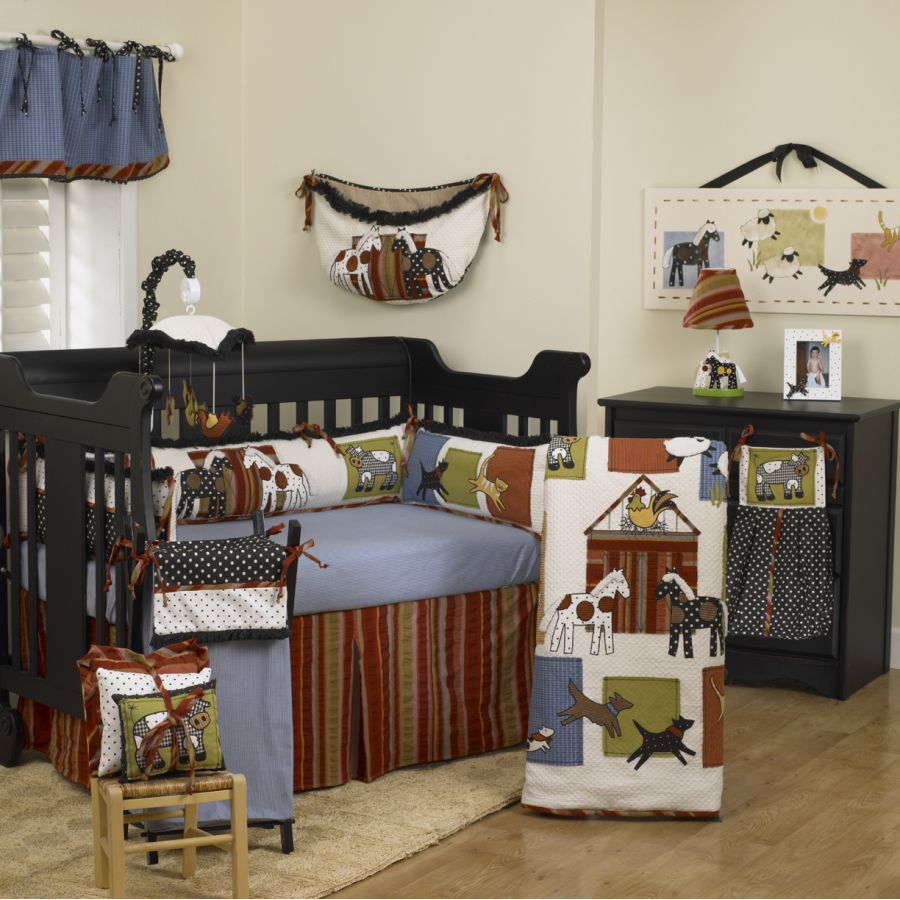 Farm animal nursery picture - Decoracion de habitaciones de bebes varones ...
