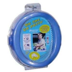 Kalencom On The Go Potty Dark Blue 1730 BL Bath Time and Potty Training