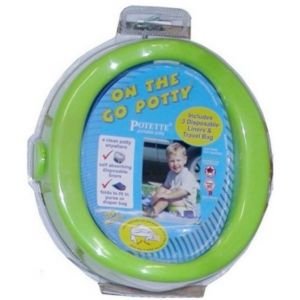 Kalencom On The Go Potty Green 1730 GR Bath Time and Potty Training
