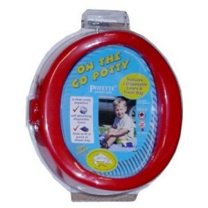Kalencom On The Go Potty Red 1730 RD Bath Time and Potty Training
