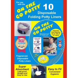Kalencom On The Go Potty On The Go Potty Liner Refill 1732 Bath Time and Potty Training