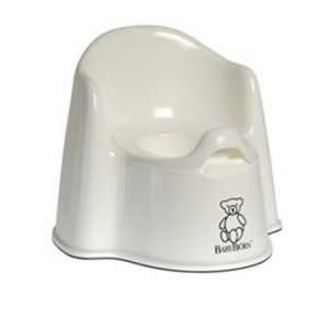 Baby Bjorn Potty Chair Potty Chair White 55121US Bath Time and Potty Training