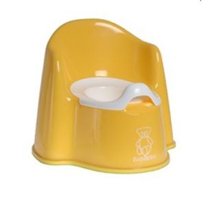 Baby Bjorn Potty Chair Potty Chair Yellow 55160US Bath Time and Potty Training