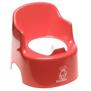 Baby Bjorn Potty Chair Potty Chair Red 55105US Bath Time and Potty Training