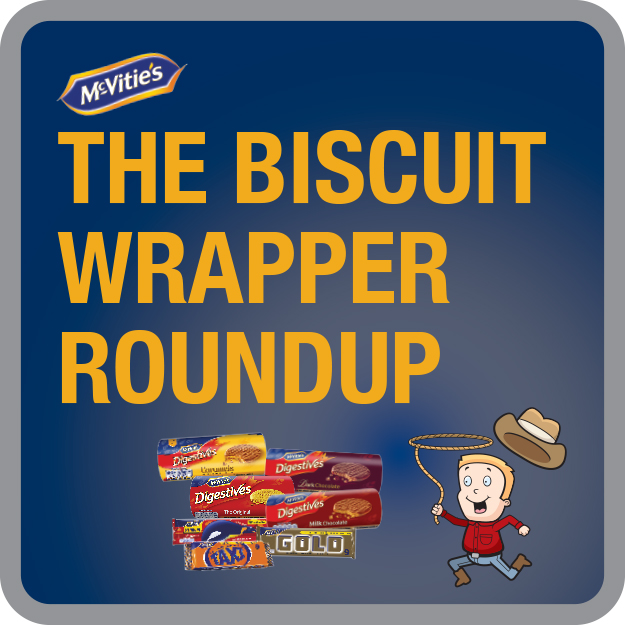 McVitie's Biscuit Wrapper Roundup