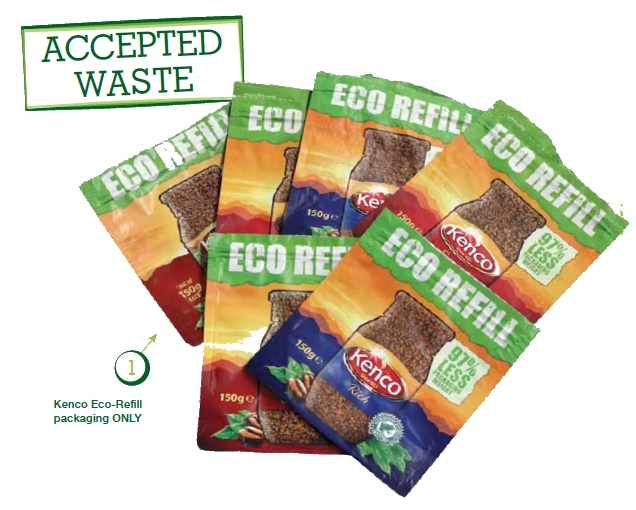 Kenco Eco-refill Brigade Accepted Waste