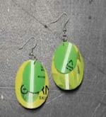 Cosmetic Tube Earrings