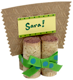 Wine Cork Name Card Holder