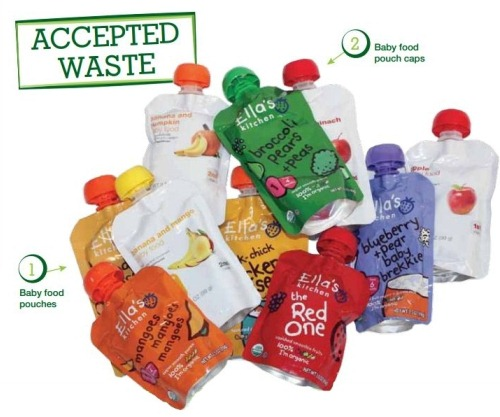 Baby Food Pouch Brigade Accepted Waste