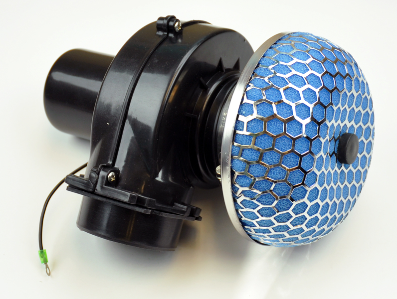 Supercharger Air Cleaner : Universal quot air intake electric supercharger turbo