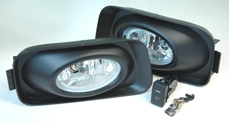 acura tsx 03 06 euro honda accord jdm fog light kit crystal clear. Black Bedroom Furniture Sets. Home Design Ideas