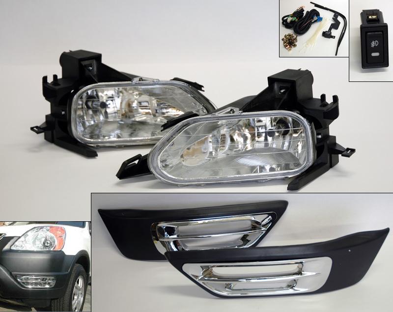 [ZHKZ_3066]  Front Clear Fog Lights Pair RH LH w/ Switch Wiring for Honda CR-V CRV 07-09  ushirika.coop | 2004 Honda Cr V Headlight Wiring |  | Tanzania Federation of Cooperatives