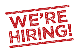 we are hiring graphic