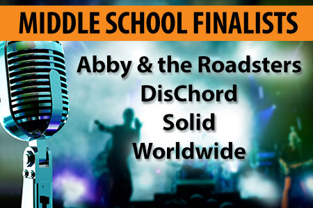 Middle School Finalists