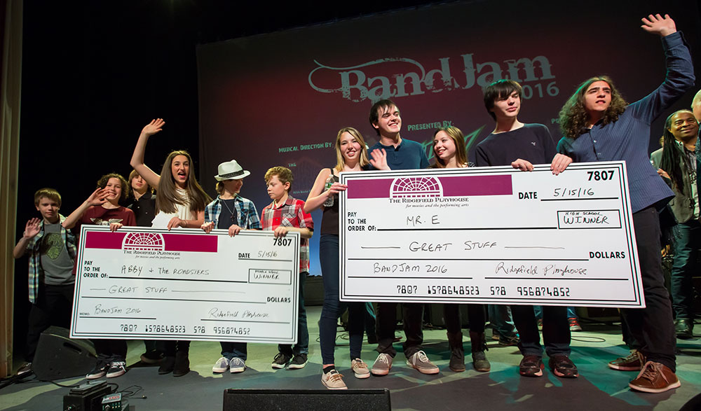 2016 Middle and High School BandJam Winners