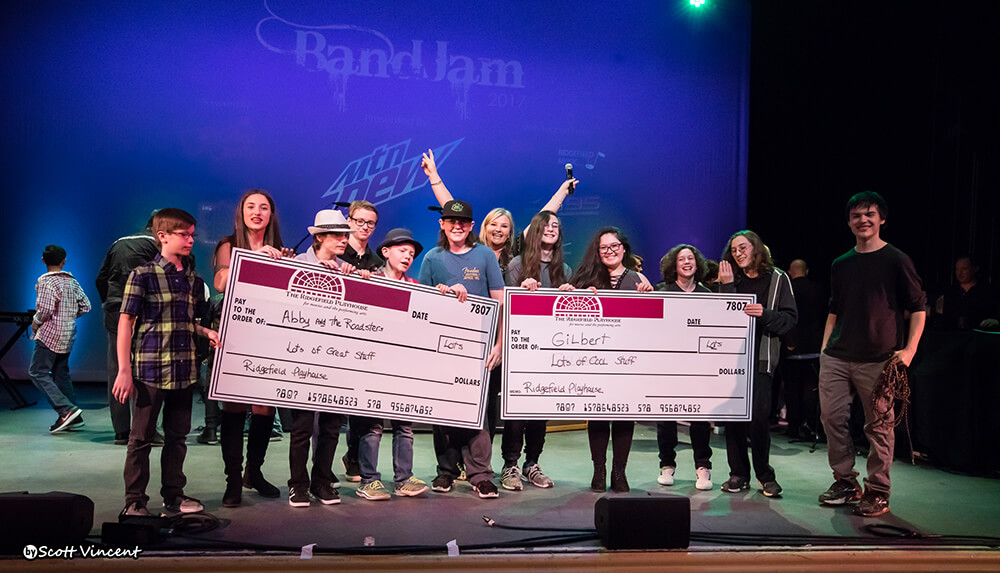 2017 Middle and High School BandJam Winners