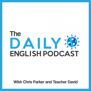 The Daily English Podcast - cover art