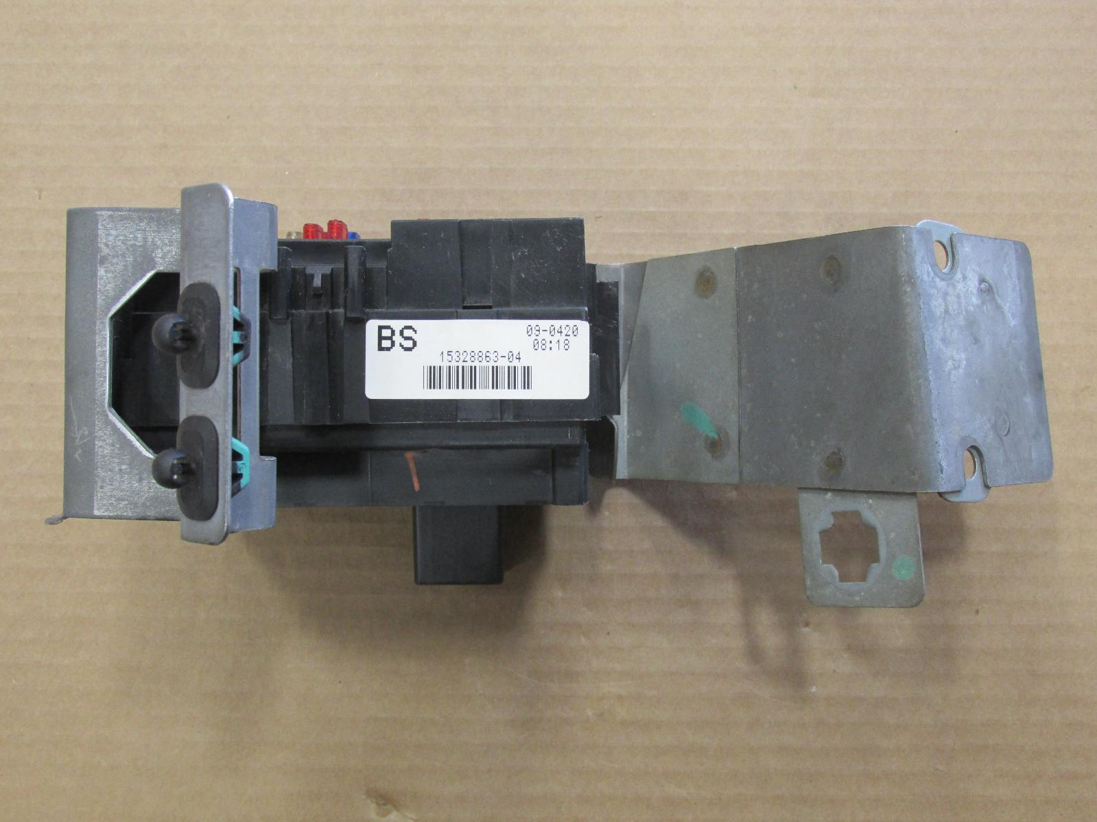 2000 00 Chevrolet Silverado Fuse Relay Box 15328863