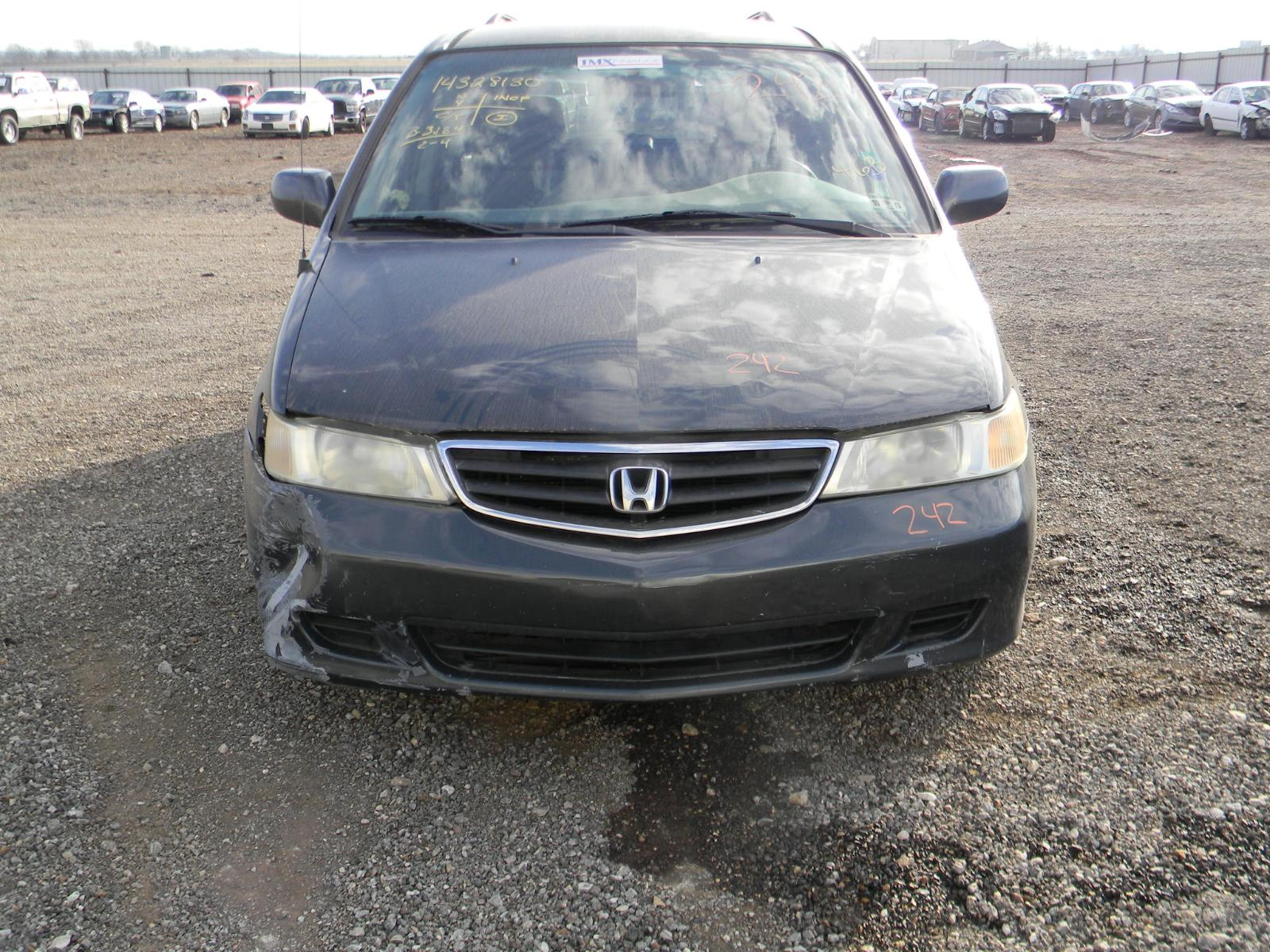 1999 2000 2001 2002 2003 2004 Honda Odyssey Engine Compartment Fuse Box