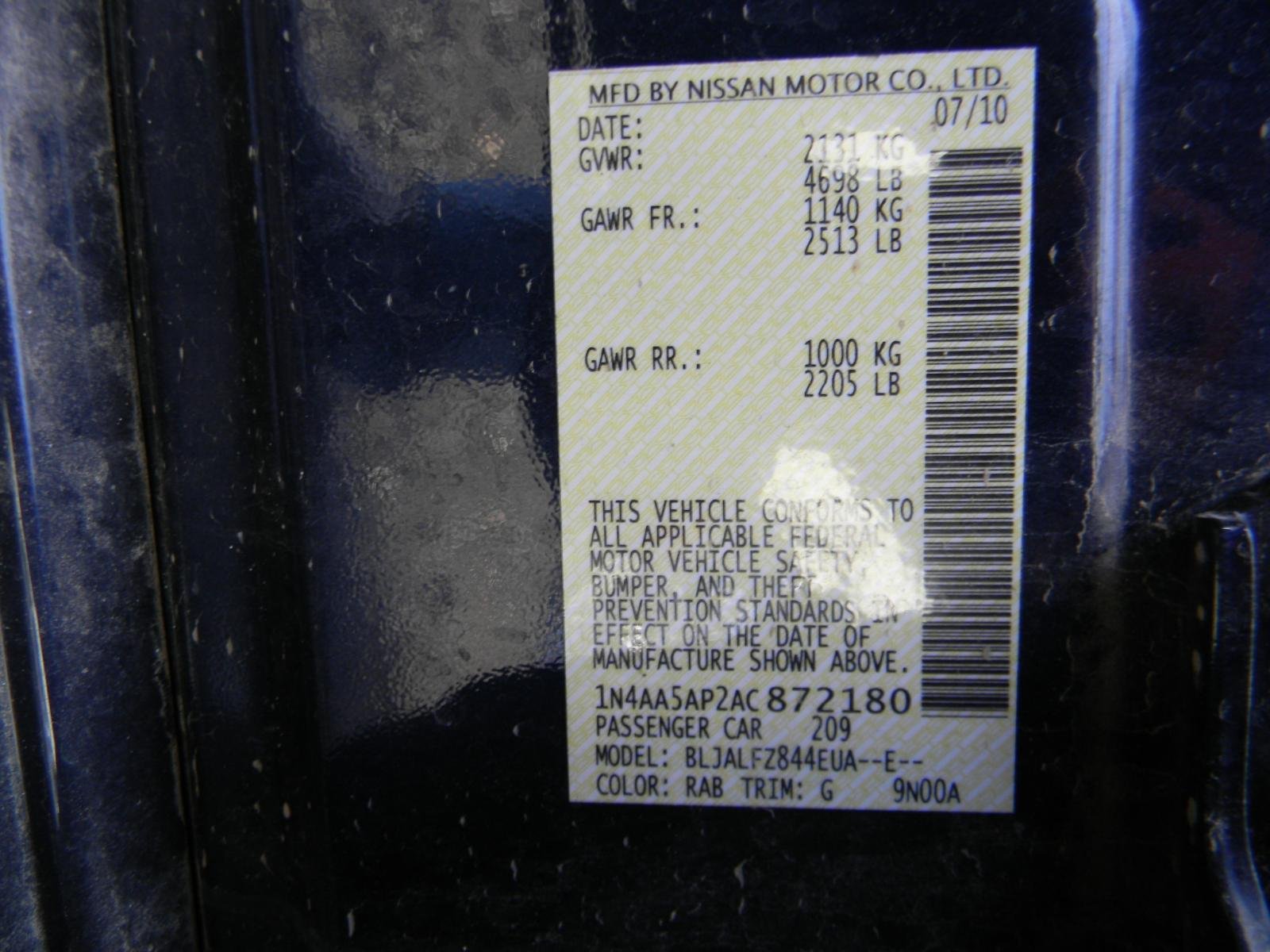 2014 Nissan Maxima Fuse Box Another Blog About Wiring Diagram 2012 2009 2010 2011 2013 Panel