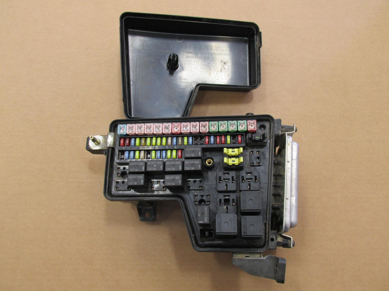 Used Dodge Ram Fuse Box : Dodge ram l integrated power