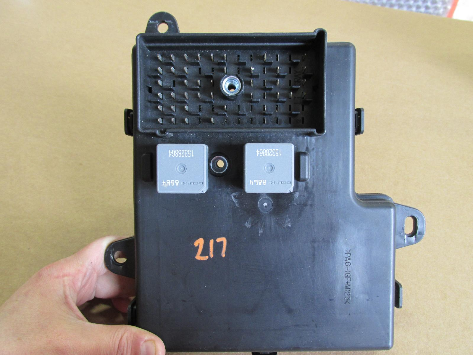 2009 2010 09 10 Chevrolet Chevy Malibu Fuse Box Bcm Body