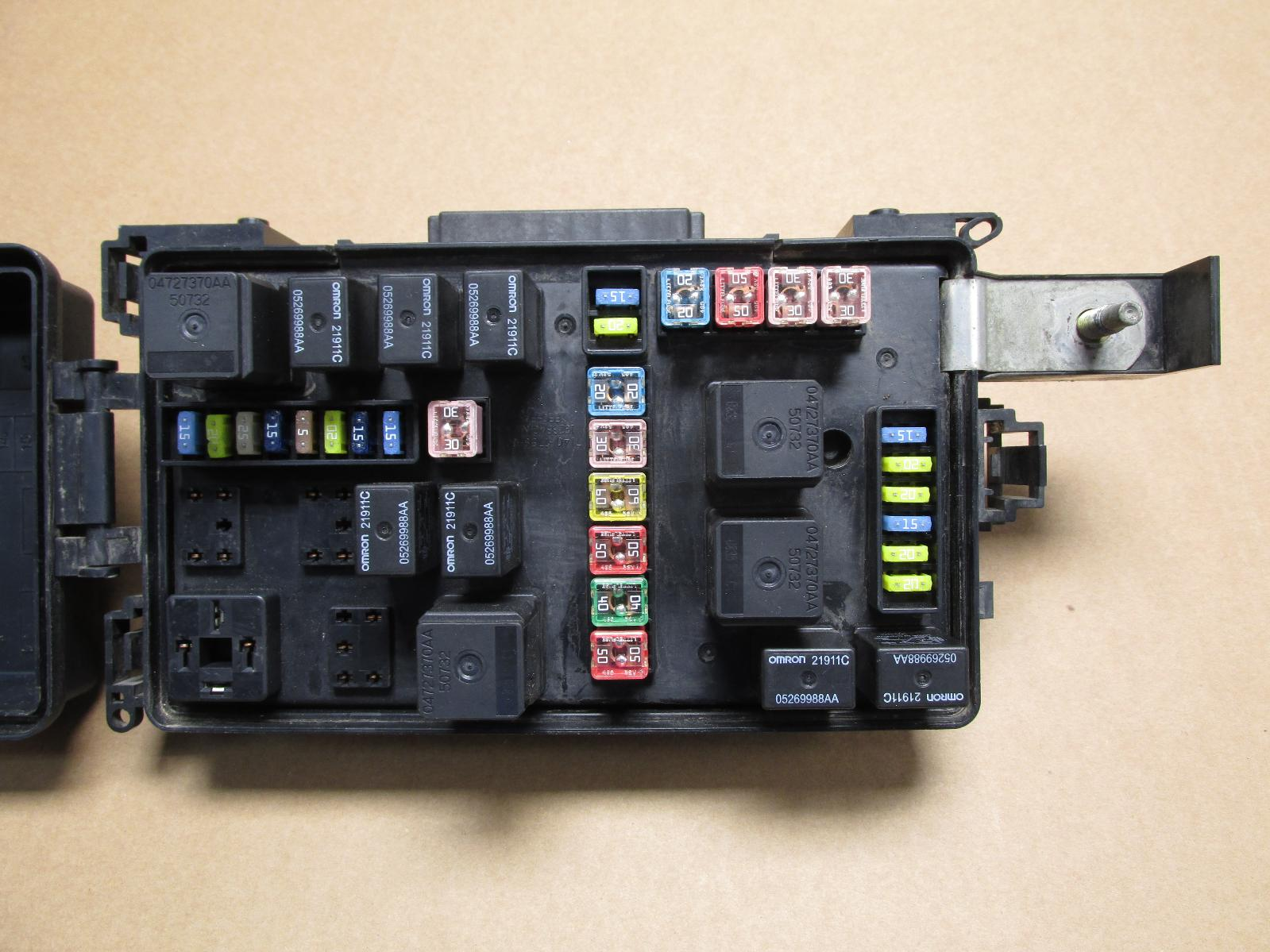 2006 06 DODGE MAGNUM CHARGER 300 FUSE BOX RELAY ...