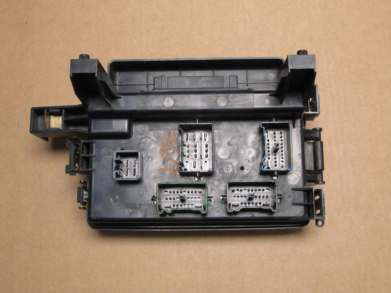 Dodge magnum charger fuse box relay