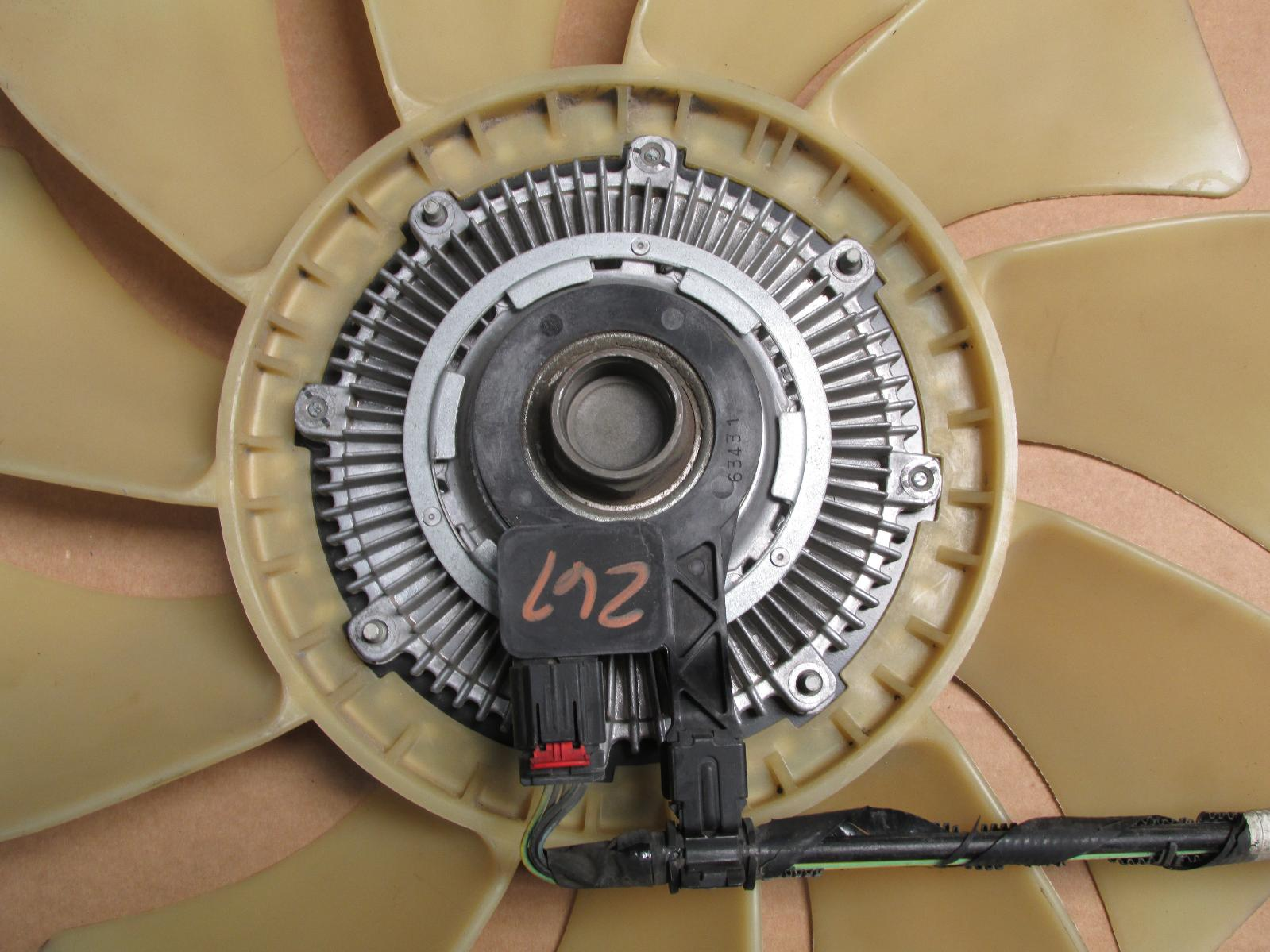 2007 2008 2009 2010 Ford Explorer Fan Blade With Clutch