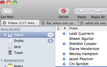 how to add another email to mail mac