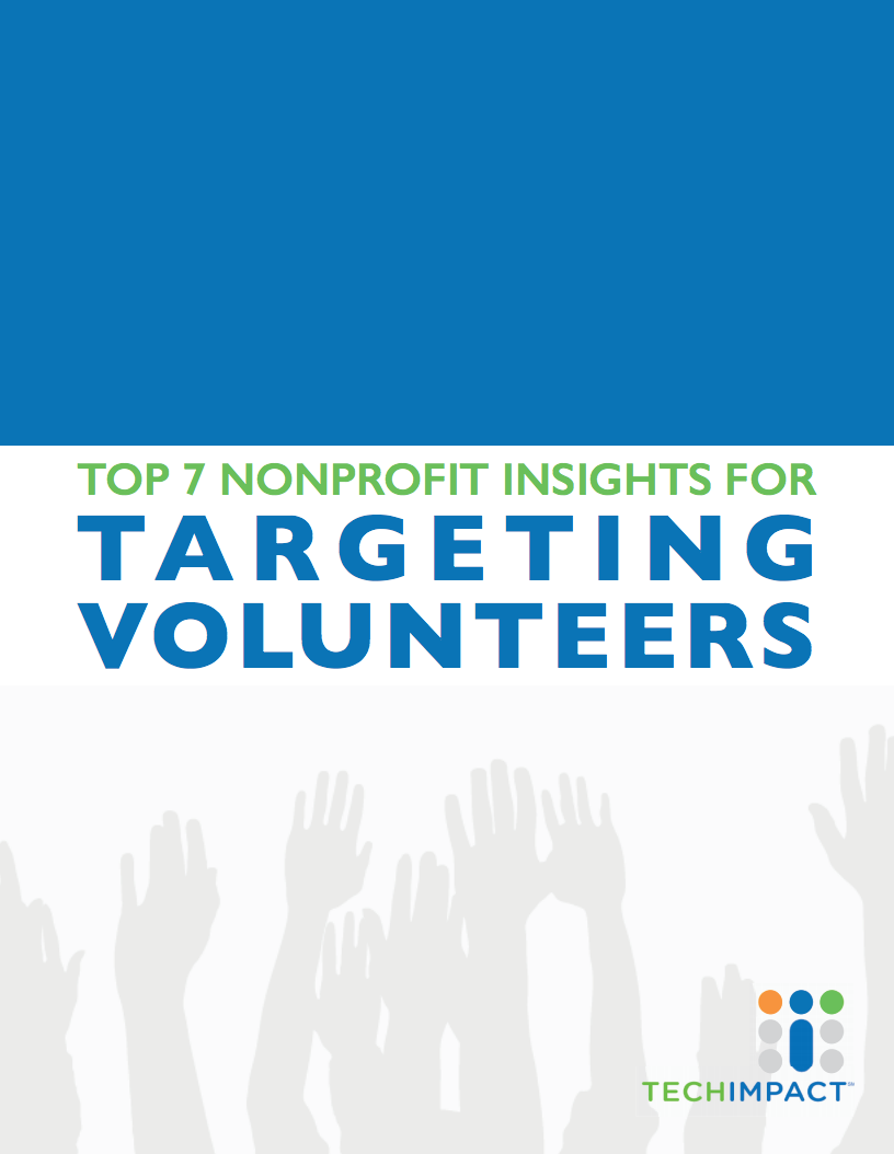 7-nonprofit-insights-for-targetting-volunteers