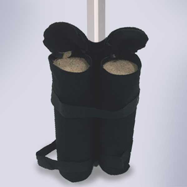 TentCraft easy transport sandbags.