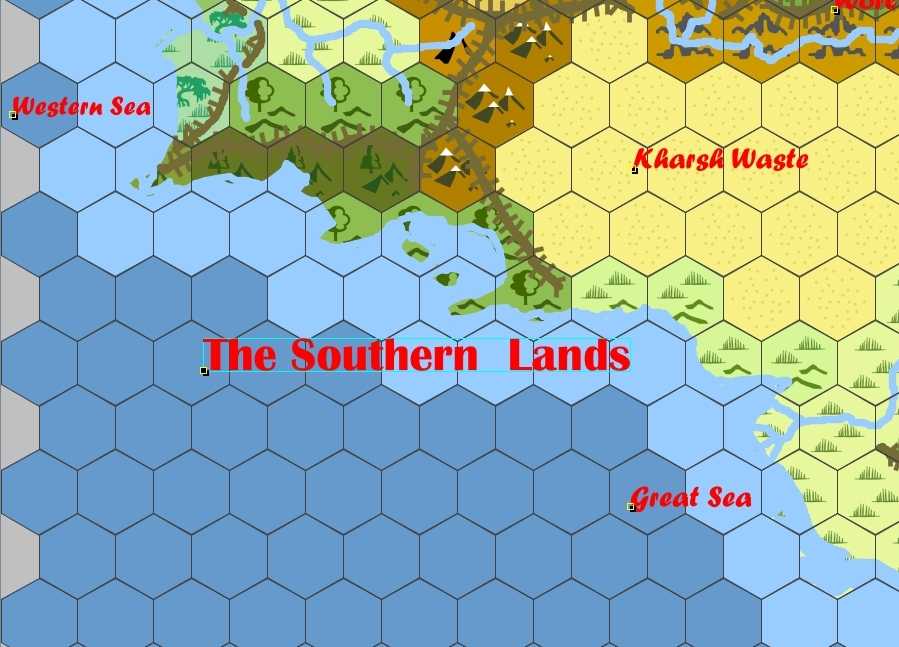 Southern lands